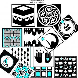 Cartes montessori bébé muslim